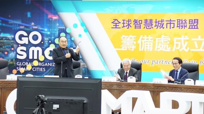經濟部工業局呂正華局長致詞。[開啟新連結]