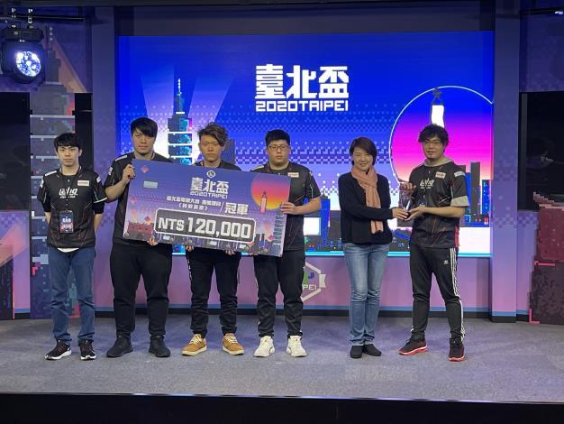 圖8:團體項目《特戰英豪》冠軍-ahq e-Sports Club