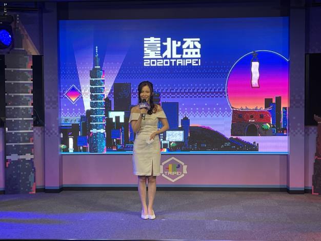 圖1:2020臺北盃直播現場