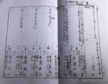 大石さん(旧姓渡邊)の戸籍謄本、左最後に名前が記載されている