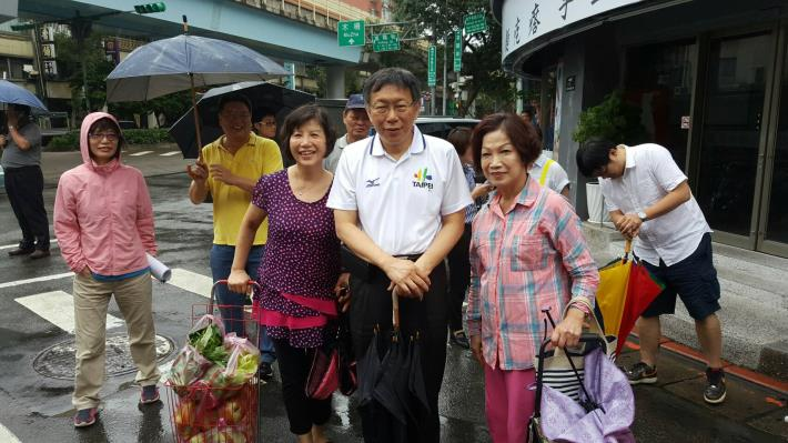 市長參訪大安區[開啟新連結]