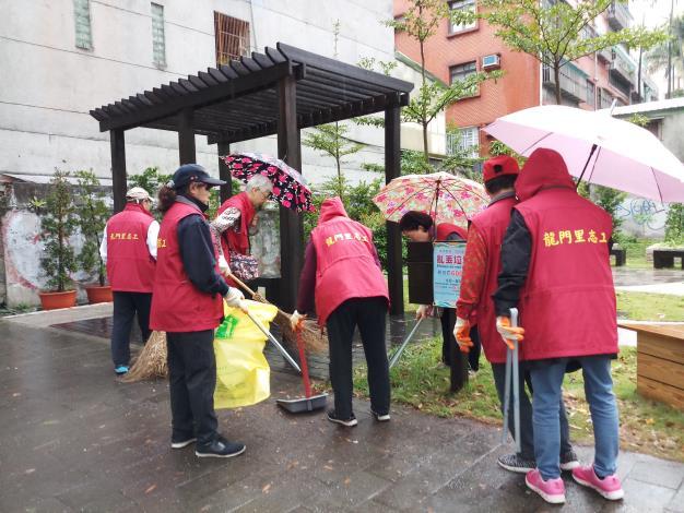 本里107年清潔日清理環境情形