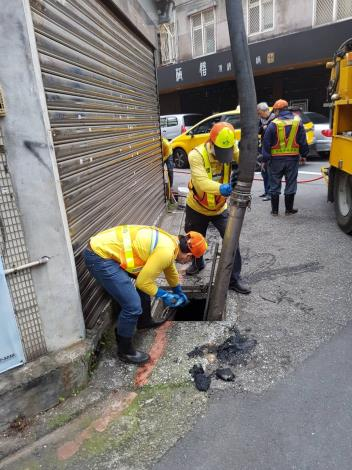 復興南路1段295巷水溝疏通
