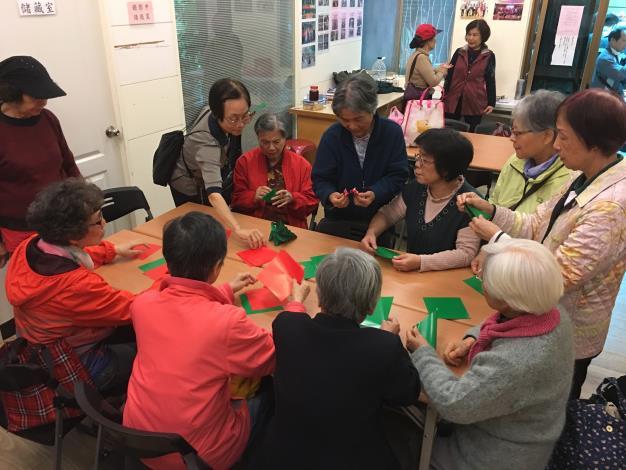 里民活動場所-綠化教室班課程活動相片