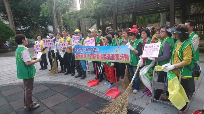 108年錦安里國家清潔週清掃照片