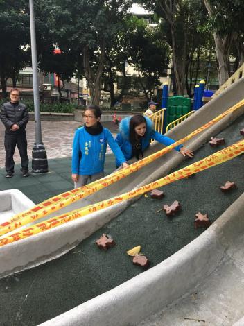 108年度新龍里辦理新龍公園兒童遊樂施會勘