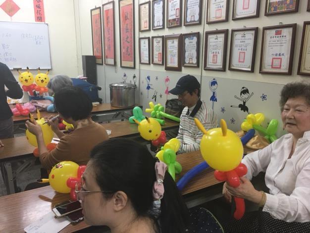 108年3月份造型氣球課程
