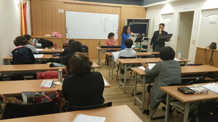 里民活動場所-快樂歌唱班課程活動相片