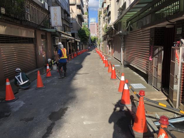 敦安里安和路一段90巷側溝蓋更新工程