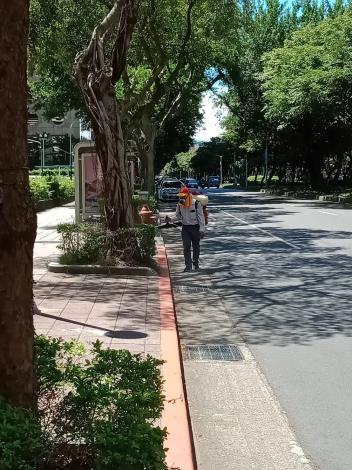 全安里全里巷弄道路清潔消毒