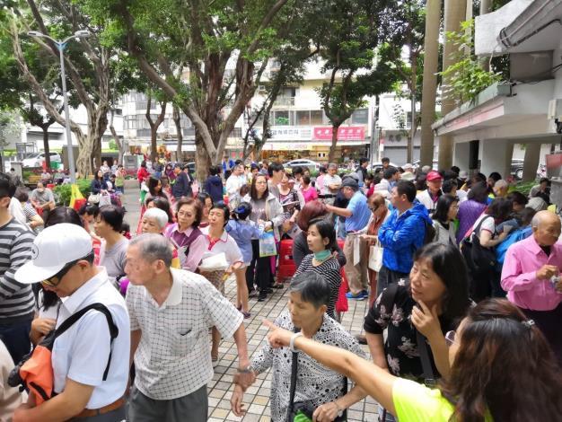 108年松江里慶祝母親節活動