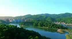 基隆河北勢湖段舊河道影觀
