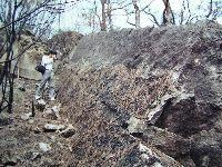 北勢湖清代打石場採石現場遺蹟