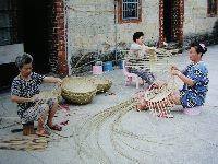 編織洗菜盛器手工業