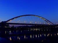麥帥二橋夜間景觀