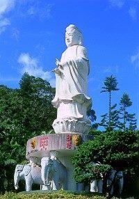 金龍禪寺白衣大士觀世音塑像
