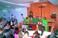 內湖天主教堂主日彌撒儀式