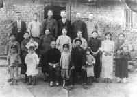 山腳許居家族合影(1931間攝)
