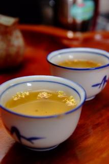 桂花包種茶照片