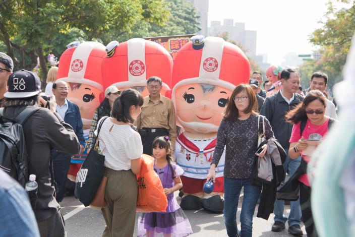 2017士林國際文化節踩街遊行嘉年華