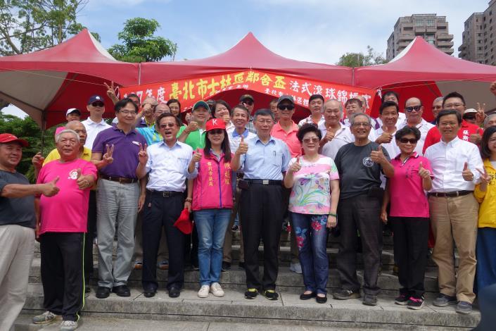 107 年臺北市士林區鄰舍盃法式滾球錦標賽