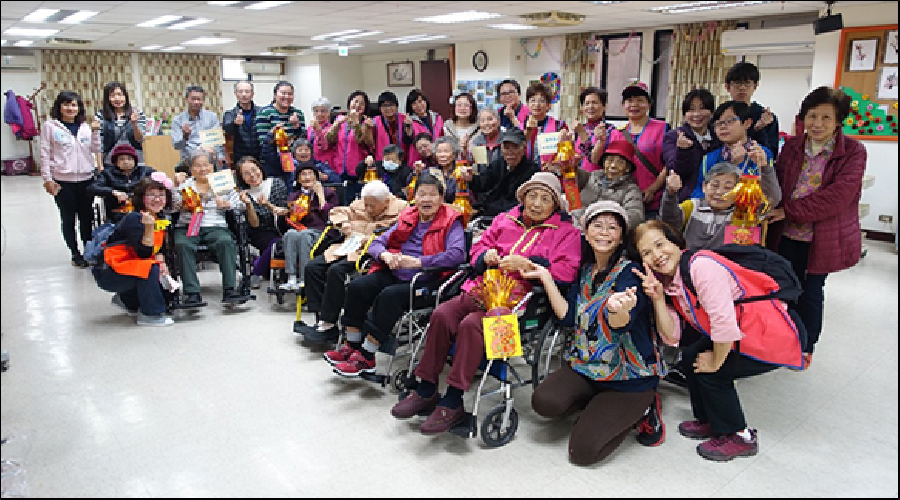 設立老人安養護中心、社區照顧關懷據點、老人服務中心