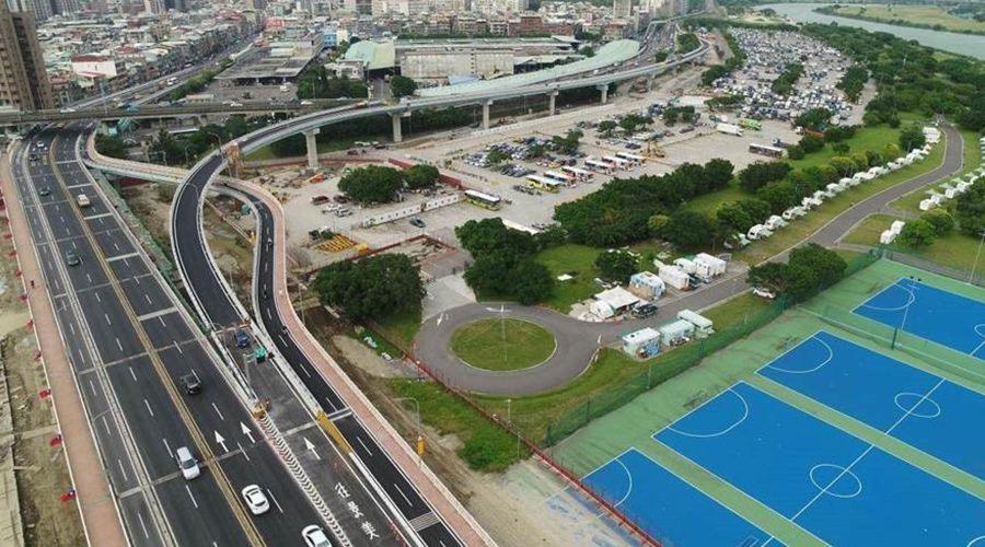 華中橋匝道銜接水源快速道路工程
