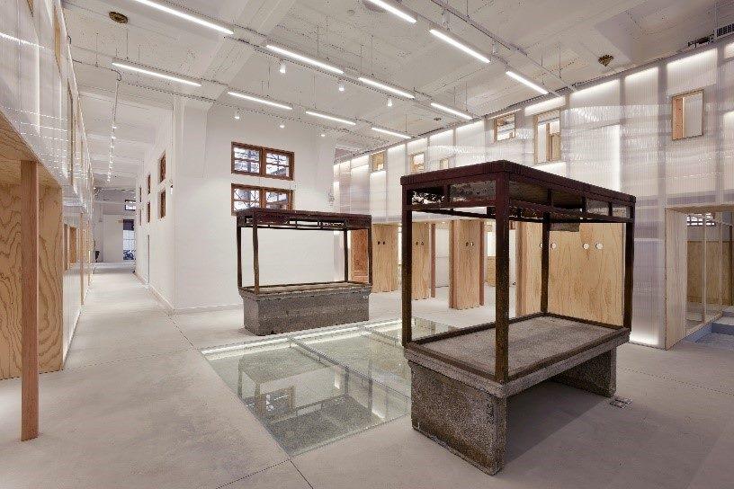文物展示的公共空間