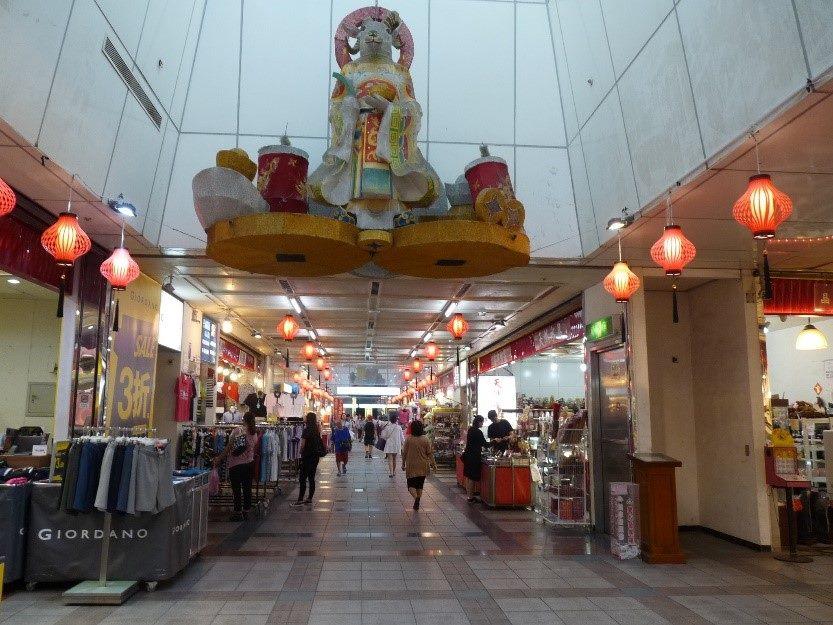 龍山寺地下街商圈