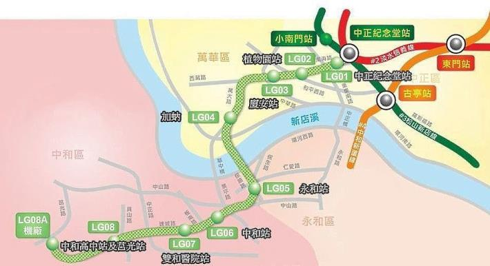 西區活化計畫--興建中的捷運萬大線