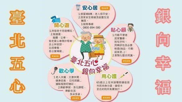 臺北五心 銀向幸福[開啟新連結]
