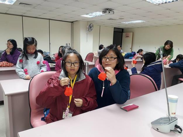 文山公民會館107年2月親子冬令營《祈福天燈DIY》活動