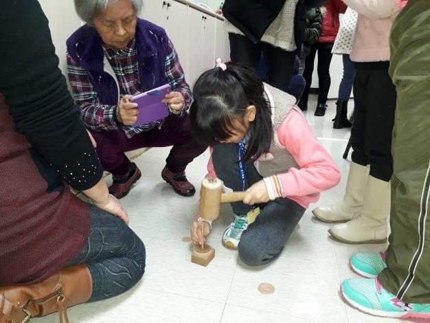 文山公民會館107年2月親子冬令營《陀螺教學DIY》活動講座