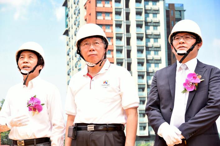 1060717出席青年公宅二期統包工程開工典禮