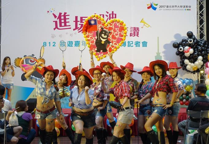 文山愛舞樂齡美咩舞蹈團