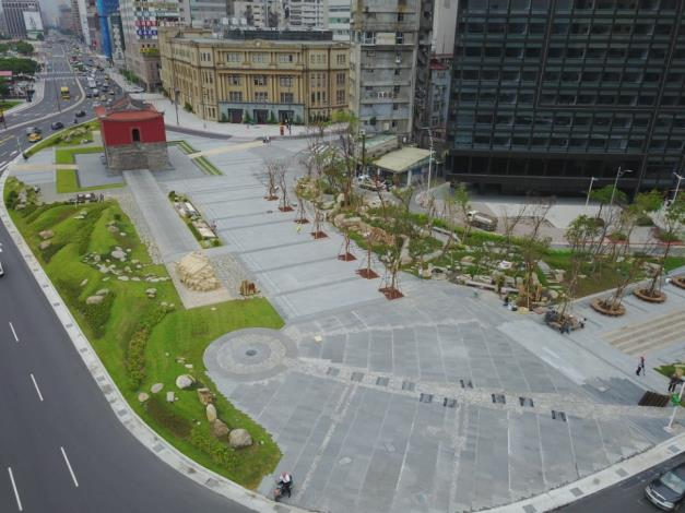 照片4.擴增為3倍大之嶄新北門廣場