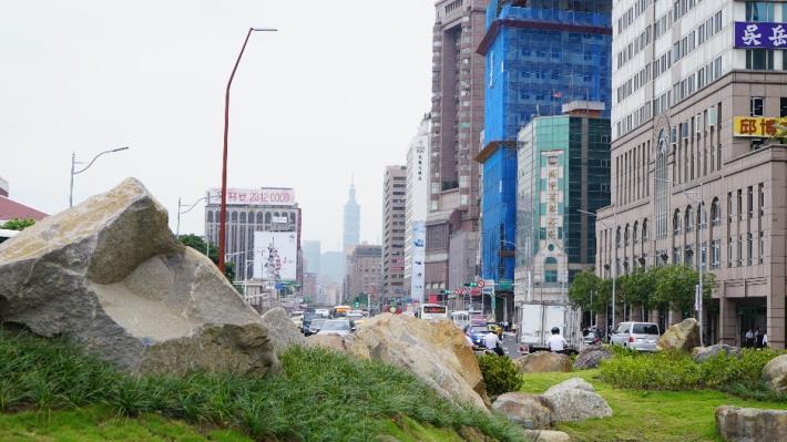 照片6.築城風水地景七星山意象