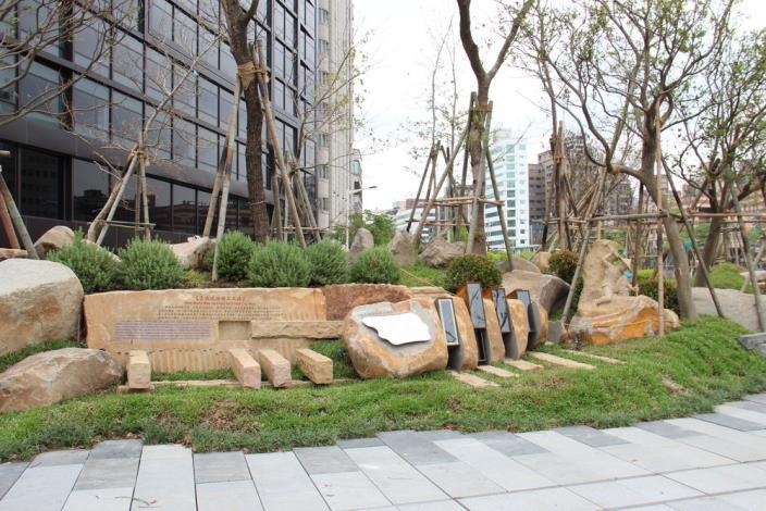 照片12.台北築牆條石解說場域