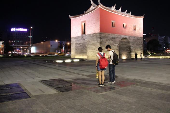 照片25.解說場域讓民眾閱讀台北城歷史軌跡