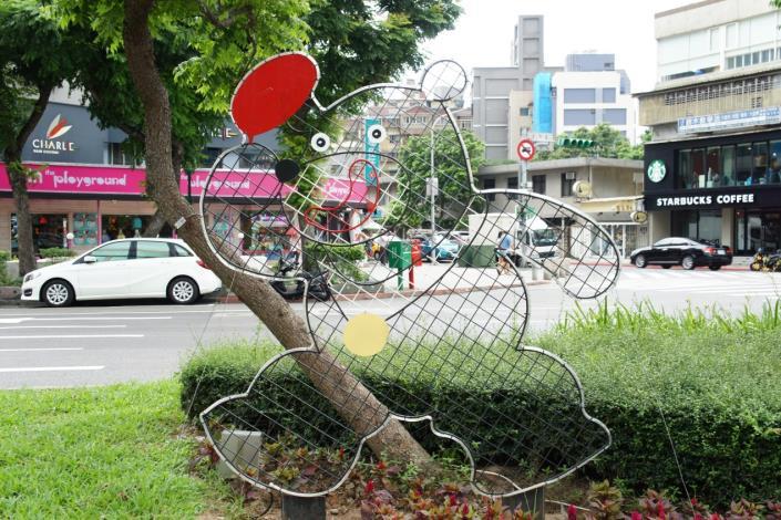 圖8.世大運吉祥物-桌球熊