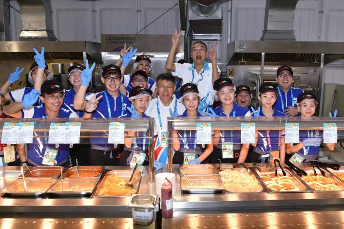 1060812參觀選手村餐廳