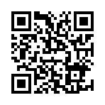 圖說:「2017第1屆市政ChatBot競賽」線上實測及投票網址QRcode[開啟新連結]