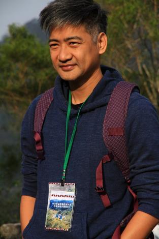 圖2.余家斌教授赴南投信義地利村擔任生態旅遊示範操作顧問。[開啟新連結]