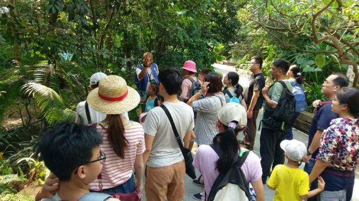圖8.臺北典藏植物園開辦相關主題活動。[開啟新連結]