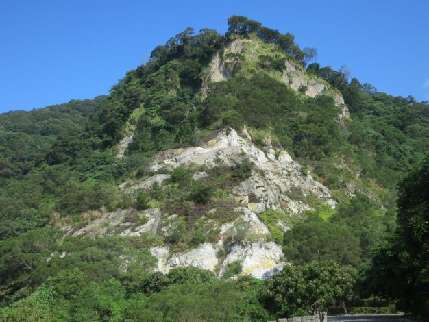 貴子坑水土保持教學園區的歷史痕跡—五指山地層