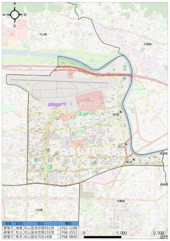松山區防救災資訊網-抽水站分佈圖