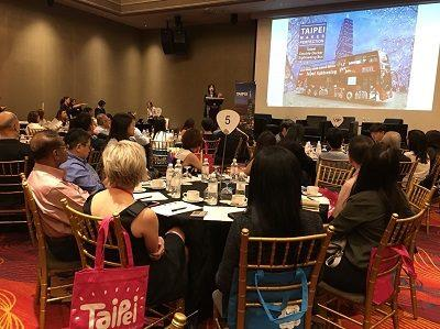 The Department of Information and Tourism, Taipei City Government is participating in overseas promotions entitled Meet Taiwan Networking Events in Singapore, Malaysia, and the Philippines, introducing Taipei City's superb MICE environment.