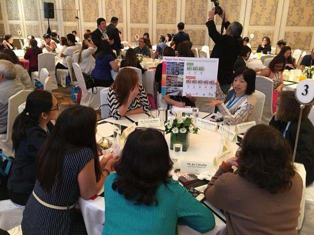 Incentive-travel agents from Singapore, Malaysia, and the Philippines have intense interest in Taipei City's MICE sponsorship program and the many types of tickets offered.