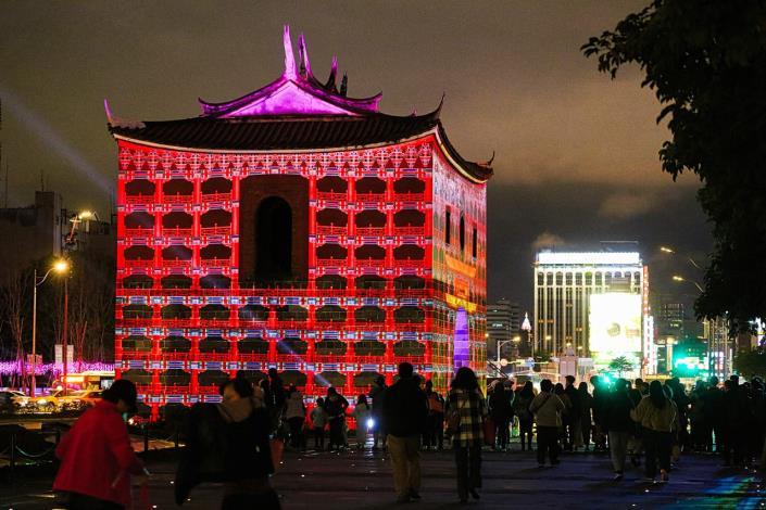 Taipei Festival of Lights _ Beimen Light Sculpture Show