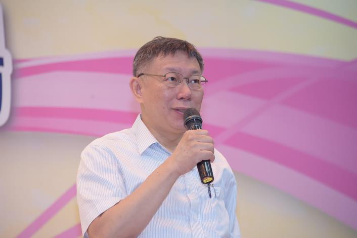 表揚孝行模範、績優宗教、民俗團體 柯文哲:希望眾人秉持心存善念、盡力而為,一起讓臺灣變得更好